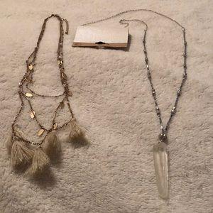 2 Necklaces (BUCKLE)